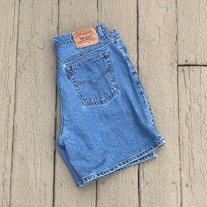 Plus Size Levi Strauss Denim Shorts